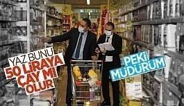 İstanbul'da marketlere eş zamanlı fiyat ve etiket denetimi