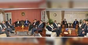 Eğitim Bir Sen Genel Merkez Yönetimi MEB Müsteşarı  ve Bakan Yardımcısını Ziyaret Etti