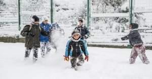 Şırnak ve Rize'de eğitime kar engeli