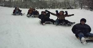 Balıkesir'in o ilçesinde kar tatili!