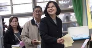 Tayvan'da Başkanlık seçimleri için halk sandığa gidiyor