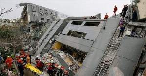 Tayvan'daki depremde 43 kişi öldü, 103 kişi kayıp