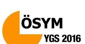 ÖSYM YGS Soru kitapçığı ve cevap anahtarı yayınlandı, 2016 YGS Soruları ve cevapları osym.gov.tr indir