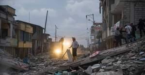Ekvador'daki depremde ölü sayısı 413'e yükseldi