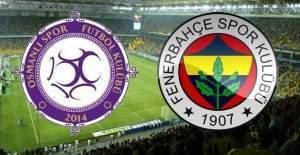 Fenerbahçe Osmanlıspor maçı hangi gün, saat kaçta, hangi kanalda?