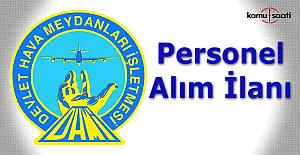 DHMİ personel alım ilanı
