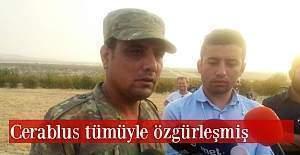Suriye komutanlarından Ali Şeyh Salih: 'Türkiye'ye teşekkür ederim.'