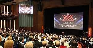 2016-2017 Yükseköğretim Akademik Yılı Açılış Töreni Cumhurbaşkanlığı Külliyesinde Gerçekleştirildi
