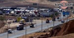 Irak sınırına askeri sevkiyat başladı