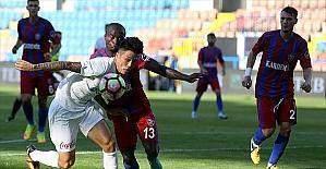 Trabzonspor Karabük'te dağıldı