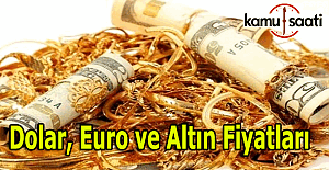 9 Kasım 2016 Dolar, Euro ve Kapalı Çarşı altın fiyatları