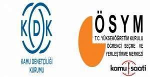 KDK, ÖSYM'ye 'ek süre' tavsiye etti