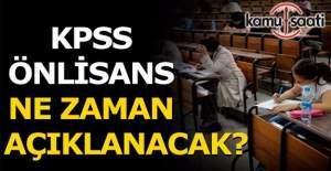 KPSS Önlisans sonuçları açıklandı mı? ÖSYM sonuç sorgula öğren