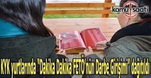 """KYK yurtlarında """"Dakika Dakika FETÖ'nün Darbe Girişimi"""" dağıtıldı"""