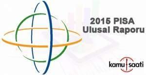 2015 PISA Ulusal Raporu