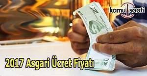 2017 Asgari Ücret belli oldu - İşte Asgari ücret brüt net fiyatı