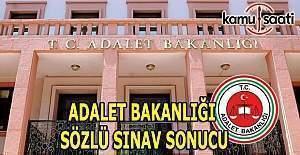Adalet Bakanlığı Sözlü Sınav sonucu açıklandı - İstenen Belgeler nelerdir?