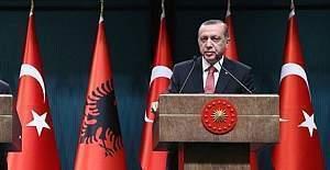 Erdoğan'dan El-Bab açıklaması.