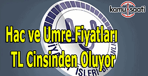 Hac ve Umre fiyatları TL cinsinden oluyor - Diyanet'ten TL açıklaması