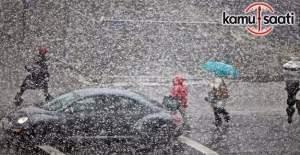 Meteoroloji'den bazı illerimiz için kar yağışı uyarısı