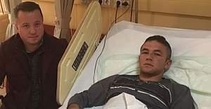 Patlamada yaralanan asker, yaşadıklarını anlattı