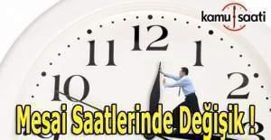 Yozgat'da kamu kurumlarında mesai saatleri değişiyor