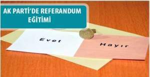 AK Parti'den referandum kılavuzu