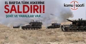El Bab'da Türk askerine saldırı- 1 şehit, 5 yaralı