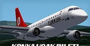 Konya'da uçak seferleri iptal edildi