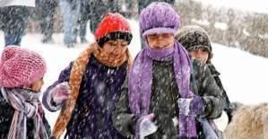Sivas ve Kayseri'de yarın okullar tatil mi?  9 Ocak 2017 kar tatili