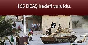TSK: 165 hedef vuruldu, 11 DEAŞ'lı öldürüldü