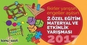 2. Özel Eğitim Materyal ve Etkinlik Yarışması