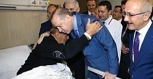 Erdoğan'dan Mersin Şehir Hastanesi'ne ziyaret