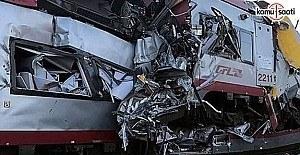 Lüksemburg'ta tren kazası!