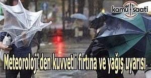 Meteorolojiden uyarı, fırtına geliyor
