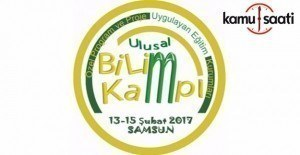 Samsun'da Ulusal Bilim Kampı açıldı