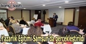 Yazarlık Eğitimi Samsun'da gerçekleştirildi