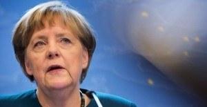 Angela Merkel'den Erdoğan'a cevap
