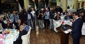 Ankara Keçiören'de 33 yıllık hizmete karşılık vefa yemeği