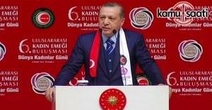 Erdoğan: Hani başörtüsünden rahatsız olmuyordunuz?