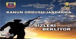 Jandarma Genel Komutanlığı Sözleşmeli Uzman Erbaş alım ilanı