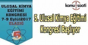 5. Ulusal Kimya Eğitimi Kongresi