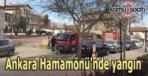 Ankara'daki yangına İtfaiye müdahale edemedi