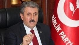 BBP Genel Başkanı Destici'den Meral Akşener'e davet