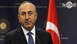 Dışişleri Bakanı Çavuşoğlu'ndan BM'nin FETÖ'ye bağlı örgütleri bünyesinden atmasına ilişkin açıklama