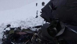Helikopterin düşme nedeni belirlendi