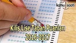 Kilis Lise Taban Puanları 2016-2017