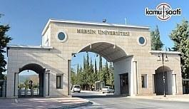 Mersin Üniversitesi ilanı iptal etti