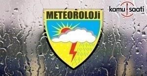 Meteorolojiden 5 il için yağış ve zirai don uyarısı