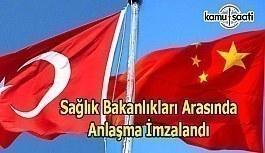 Sağlık alanında Türkiye ile Çin işbirliği